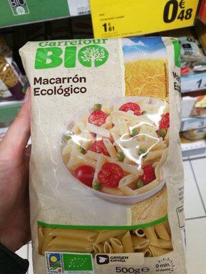 Macarrón ecologico