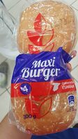 Maxi burger - Ingredientes - es