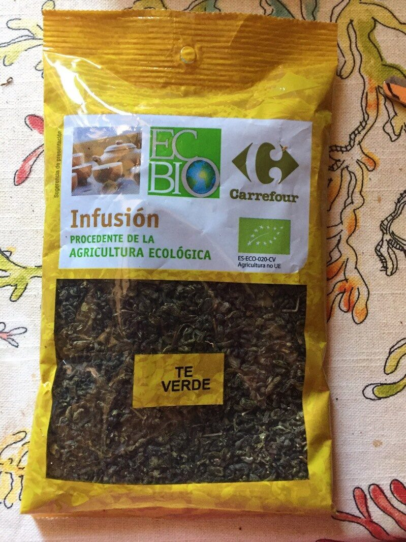 infusion te verde - Product