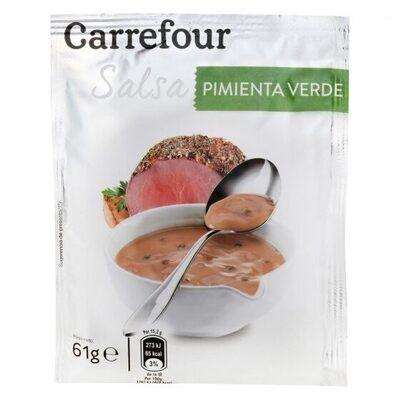 Salsa pimienta verde - Produit - es