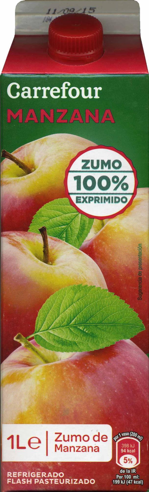 Zumo de manzana exprimido refrigerado - Producto - es