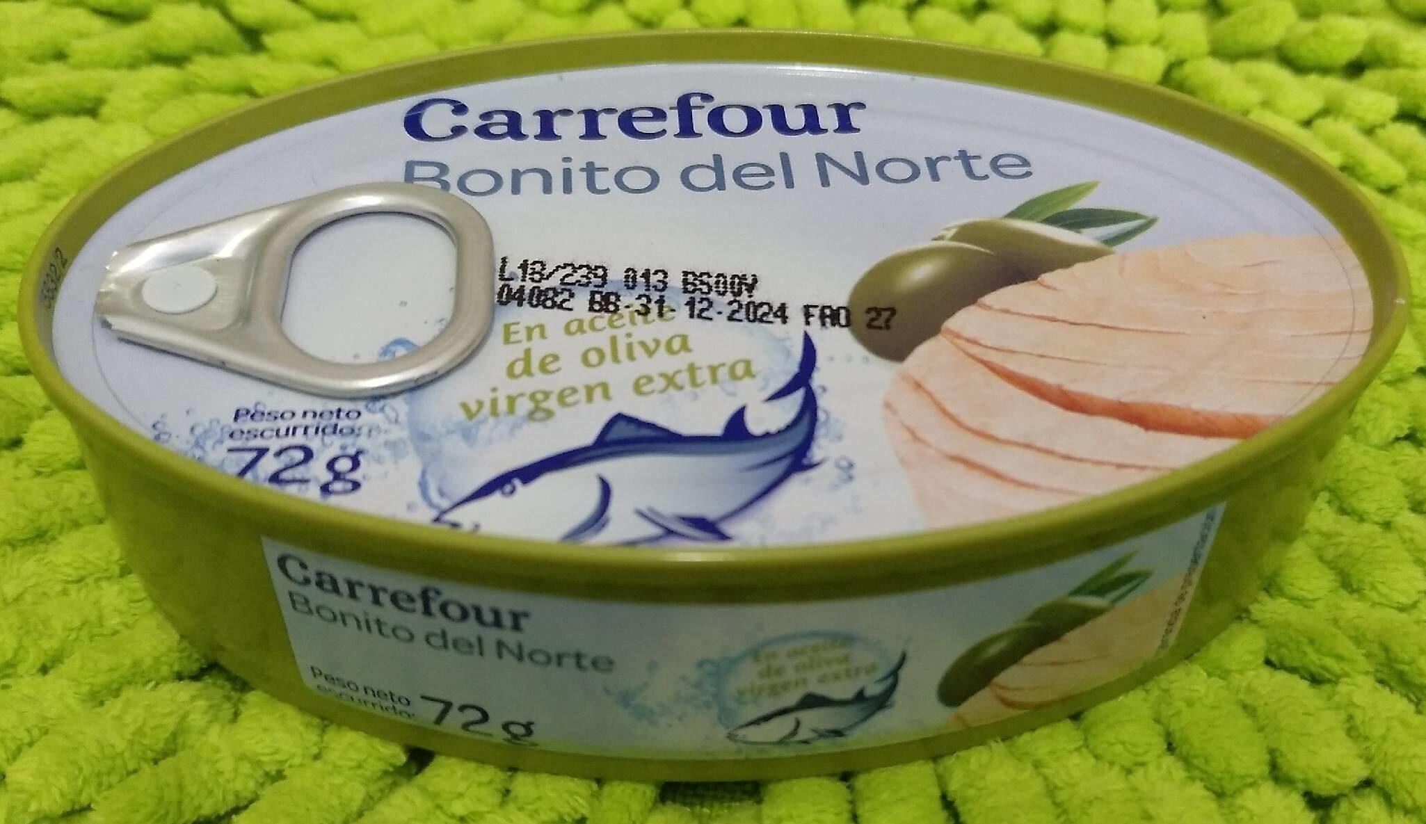 Bonito del Norte (en aceite de oliva virgen extra) - Producto