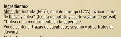 Torta turrón de Alicante - Ingredientes - es