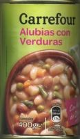 Alubias con verduras - Producto