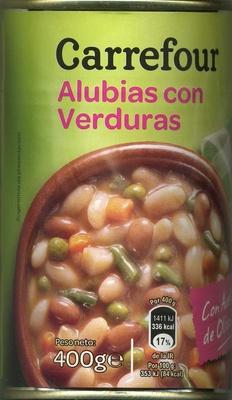 Alubias con verduras
