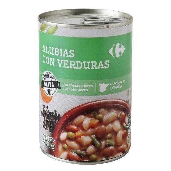 Alubia c/verduras - Producte - es