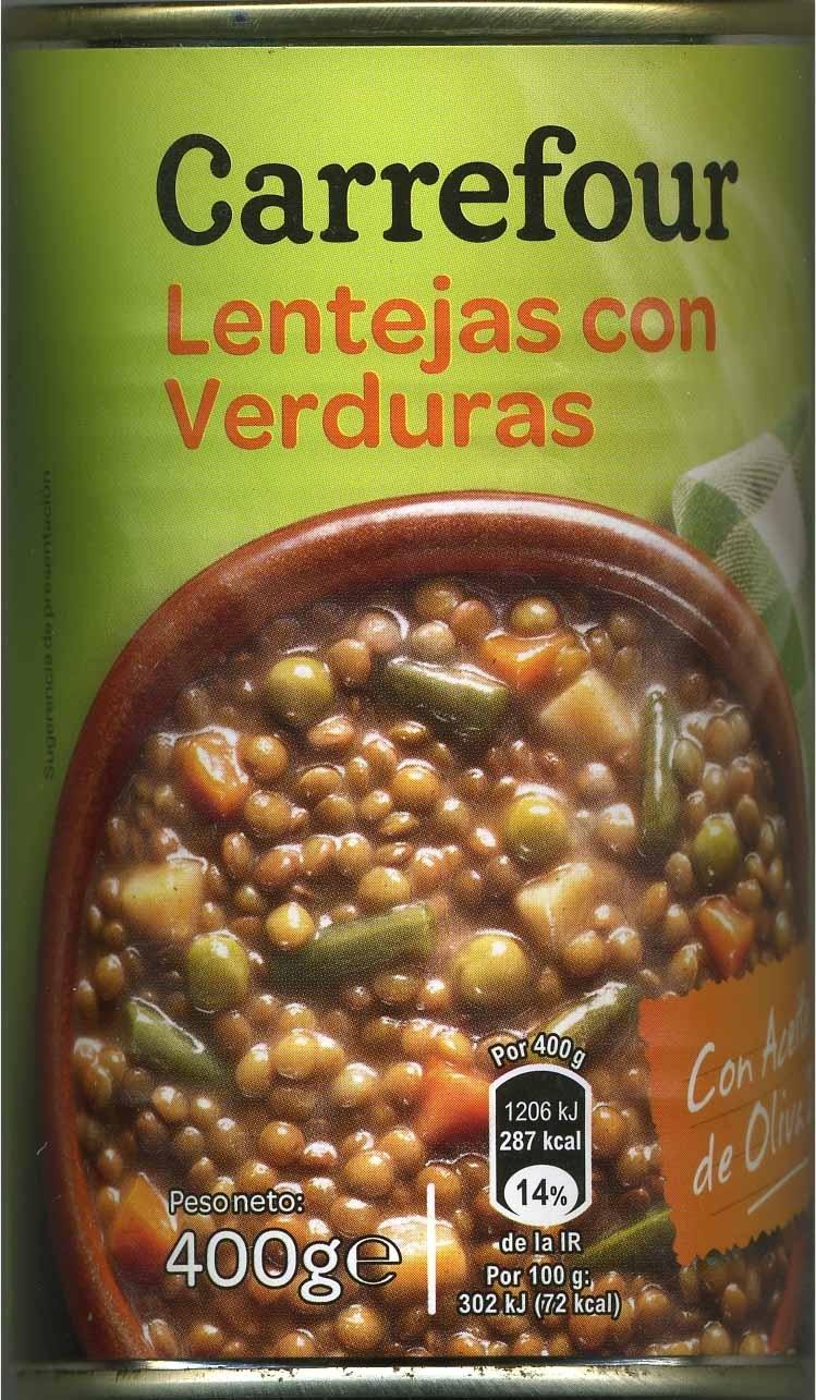 Lentejas con verduras - Producto