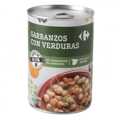 Garbanzo c/verdura - 8