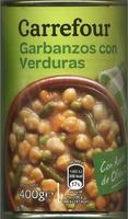 Garbanzos con verduras - Producto