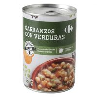 Garbanzo c/verdura - Produit - es