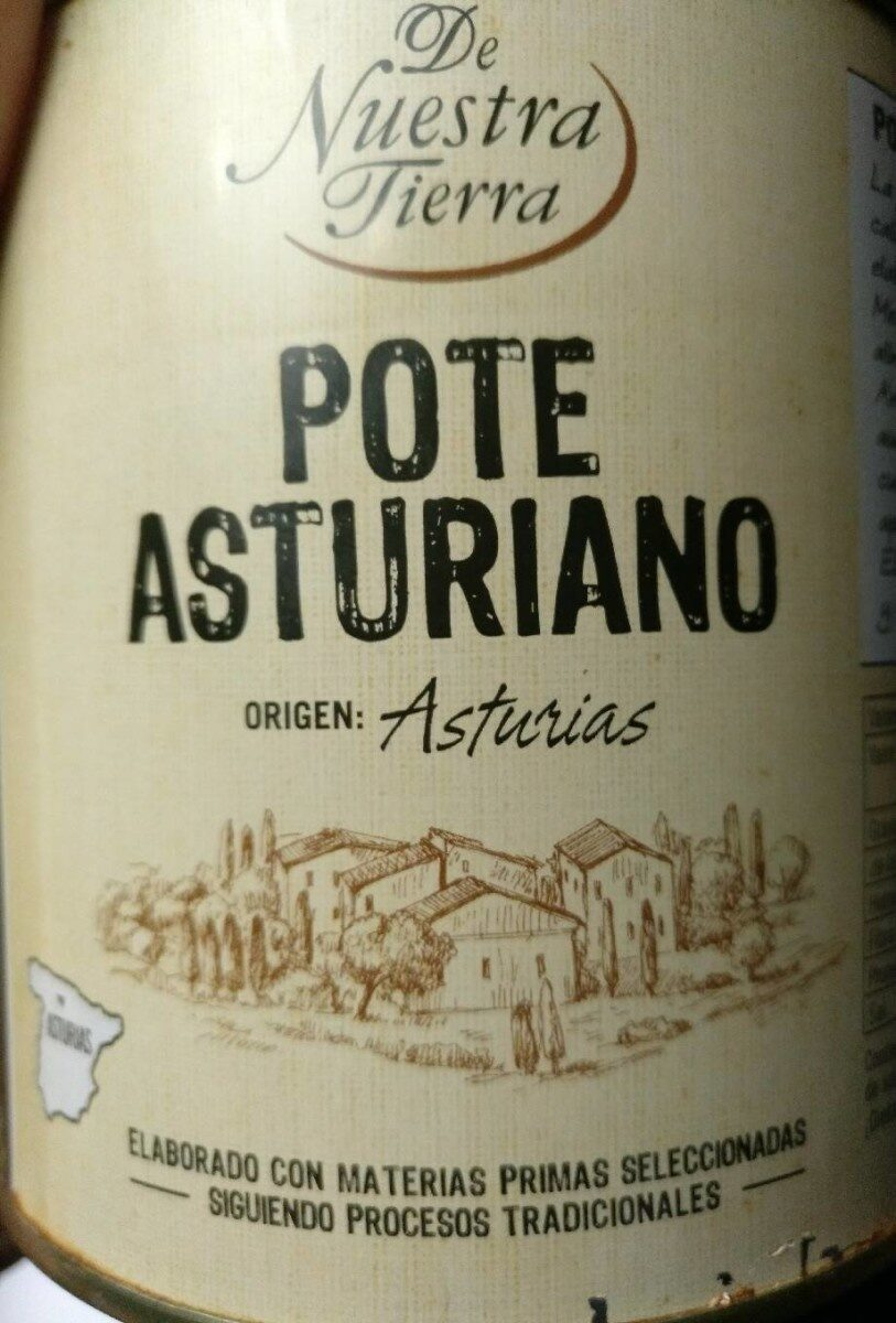 Pote Asturiano - Nutrition facts - es