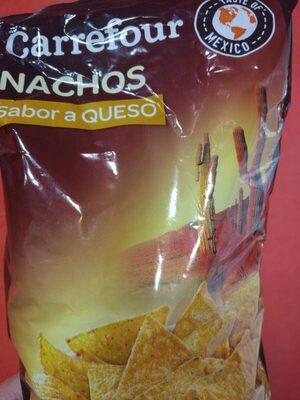 Nachos Sabor Queso - Información nutricional