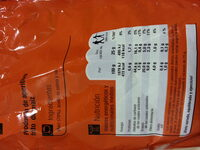 Nachos Redondos - Ingredientes