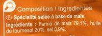 Nachos - Ingrédients - fr