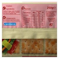 Cracker normal - Información nutricional - es