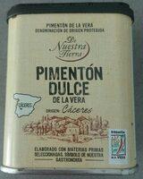 Pimentón dulce la vera - Nutrition facts - es