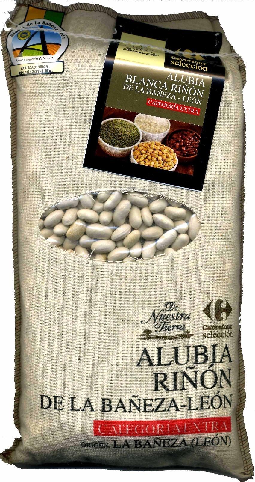 Alubias blancas de riñón Origen La Bañeza-León - Producto
