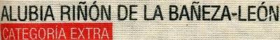 Alubias blancas de riñón Origen La Bañeza-León - Ingredientes