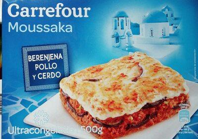 Moussaka - berenjena, pollo y cerdo - Product
