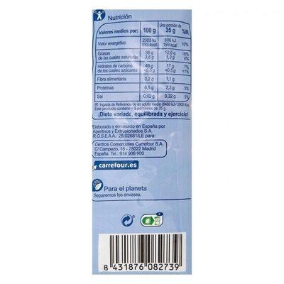 Patatas fritas onduladas - Informations nutritionnelles