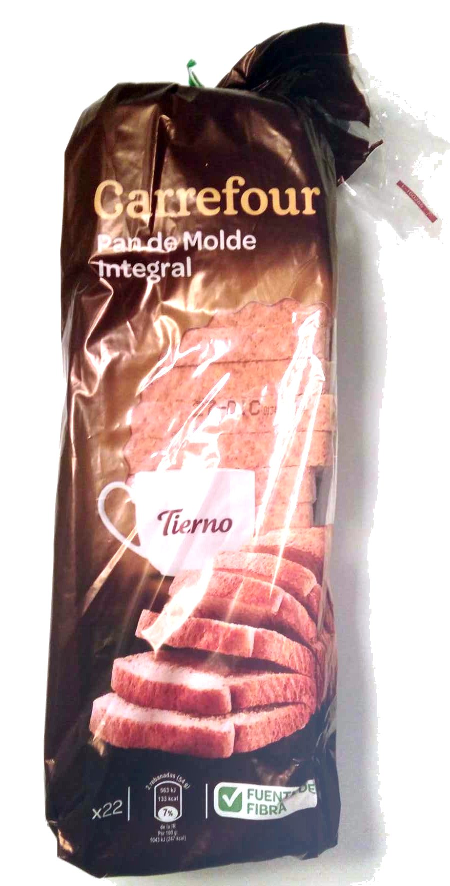 Pan de Molde integraI - Product