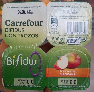 bifidus 0% manzana - Producte