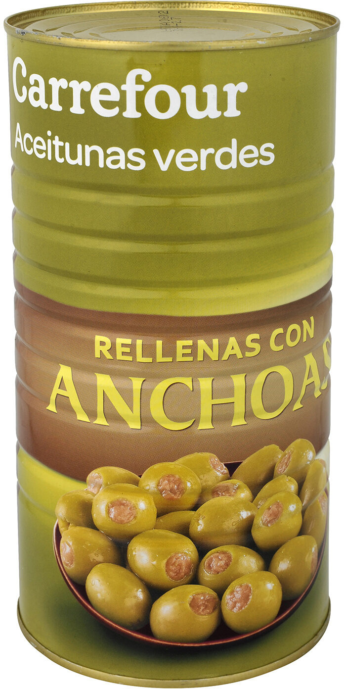 Aceitunas r/anchoa - Producto - es