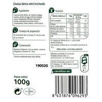 Chorizo ibérico - Ingredients - es