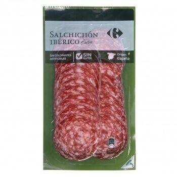 Salchichón ibérico lonchas - Producte - es
