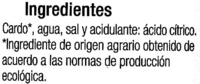 Cardo Eco - Ingredients - es