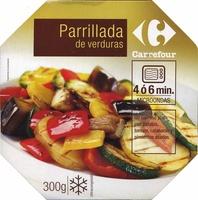 Parrillada de verduras congelada - Producto