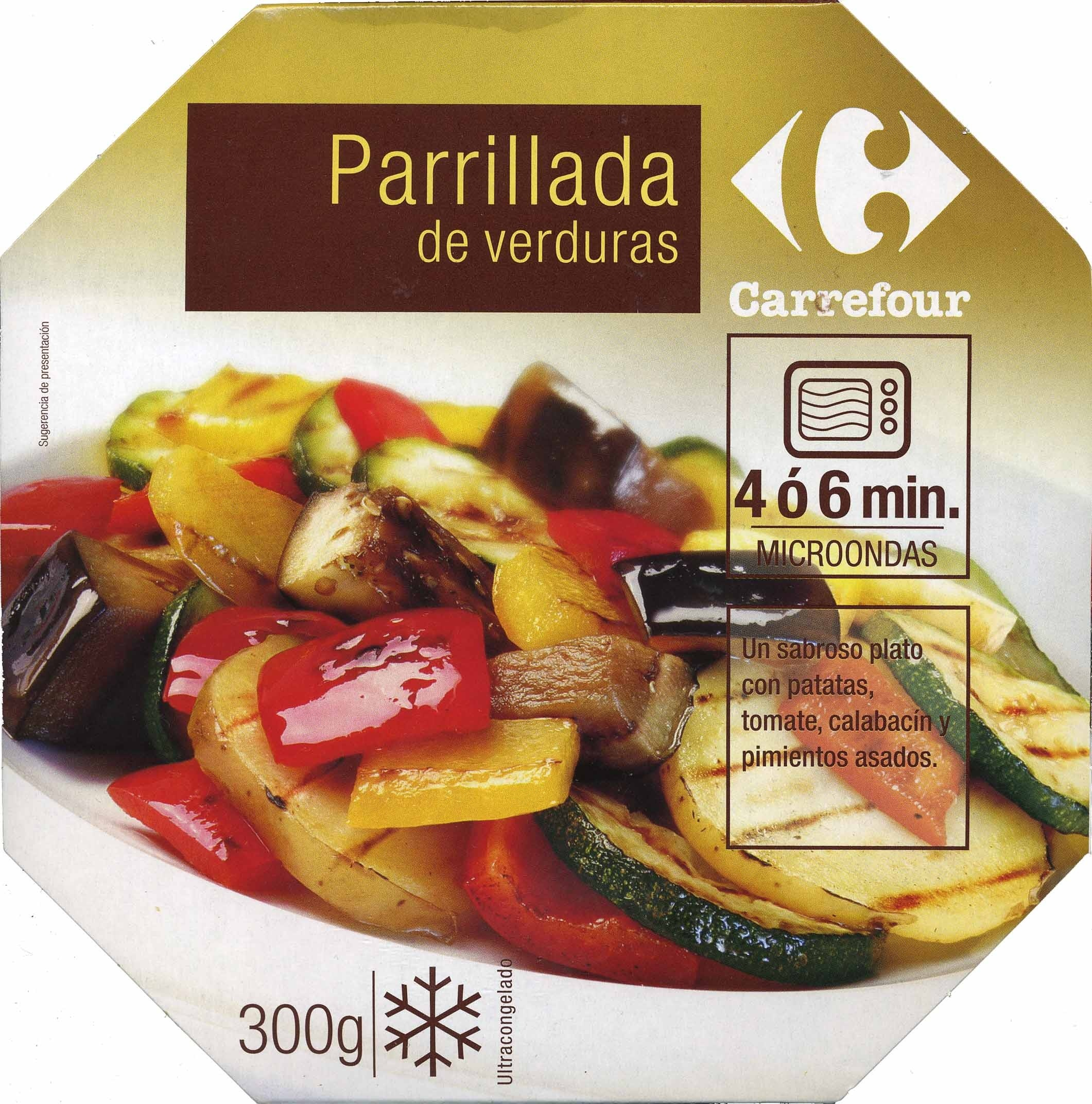 Parrillada de verduras congelada - Producte
