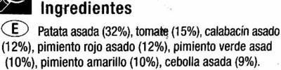 Parrillada de verduras congelada - Ingredients