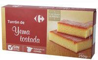 Turrón yema tostada - Product - es