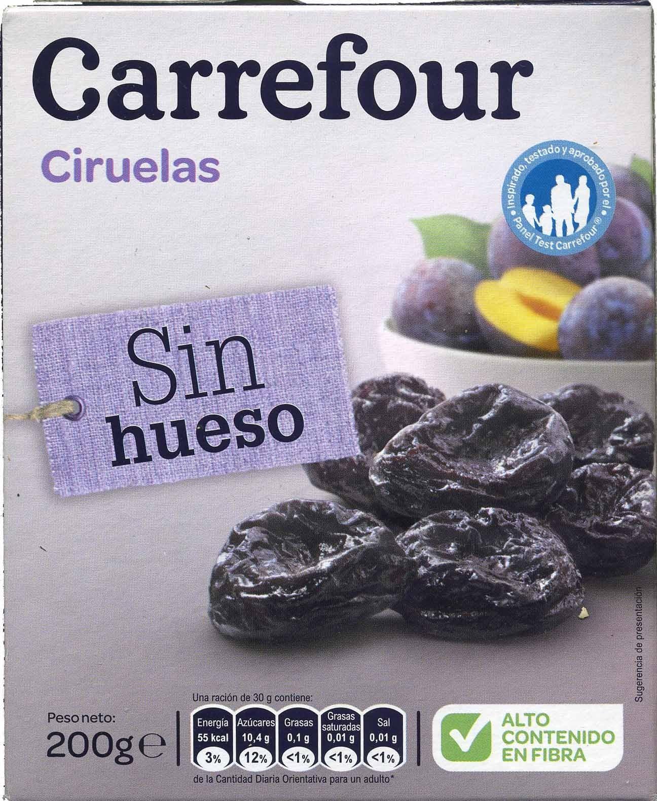 Ciruelas sin hueso Carrefour - Product