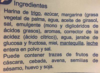 Lazos blancos - Ingredientes - fr