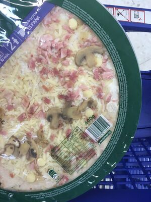 Pizza carbonara - Ingrediënten - es