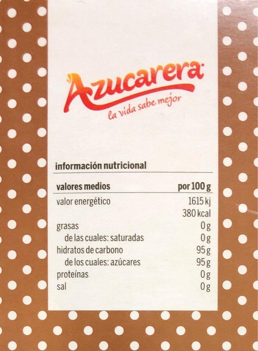 AZUCARERA - Nutrition facts