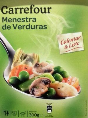 Menestra de verduras carrefour 300 g - Menestra de verduras en texturas ...
