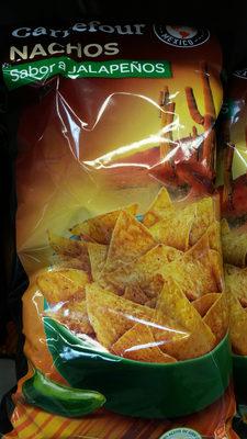 Nachos sabor a jalapeños - Informations nutritionnelles