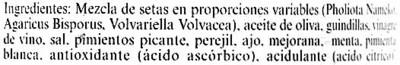 """Mezcla de setas aliñadas en conserva """"Carrefour Selección"""" - 1"""