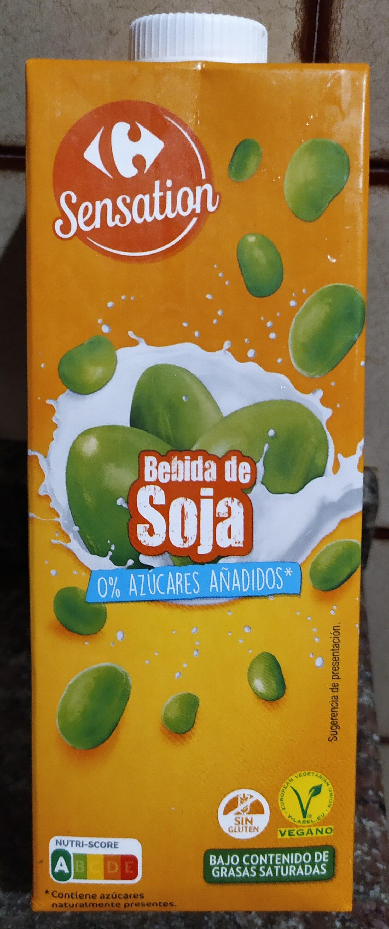Bebida soja natural - Product - es