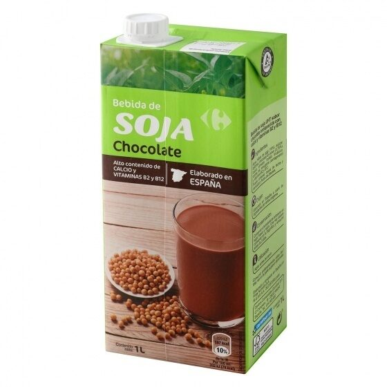 Bebida soja chocolate - Product - es