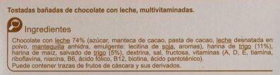 Gallta multivit. Cho/le - Ingredientes - es