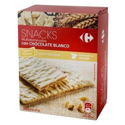 Galleta multivitaminada chocolate blanco - Producto - es