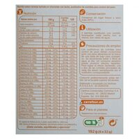 Barrita sust. Naranja - Nutrition facts - es