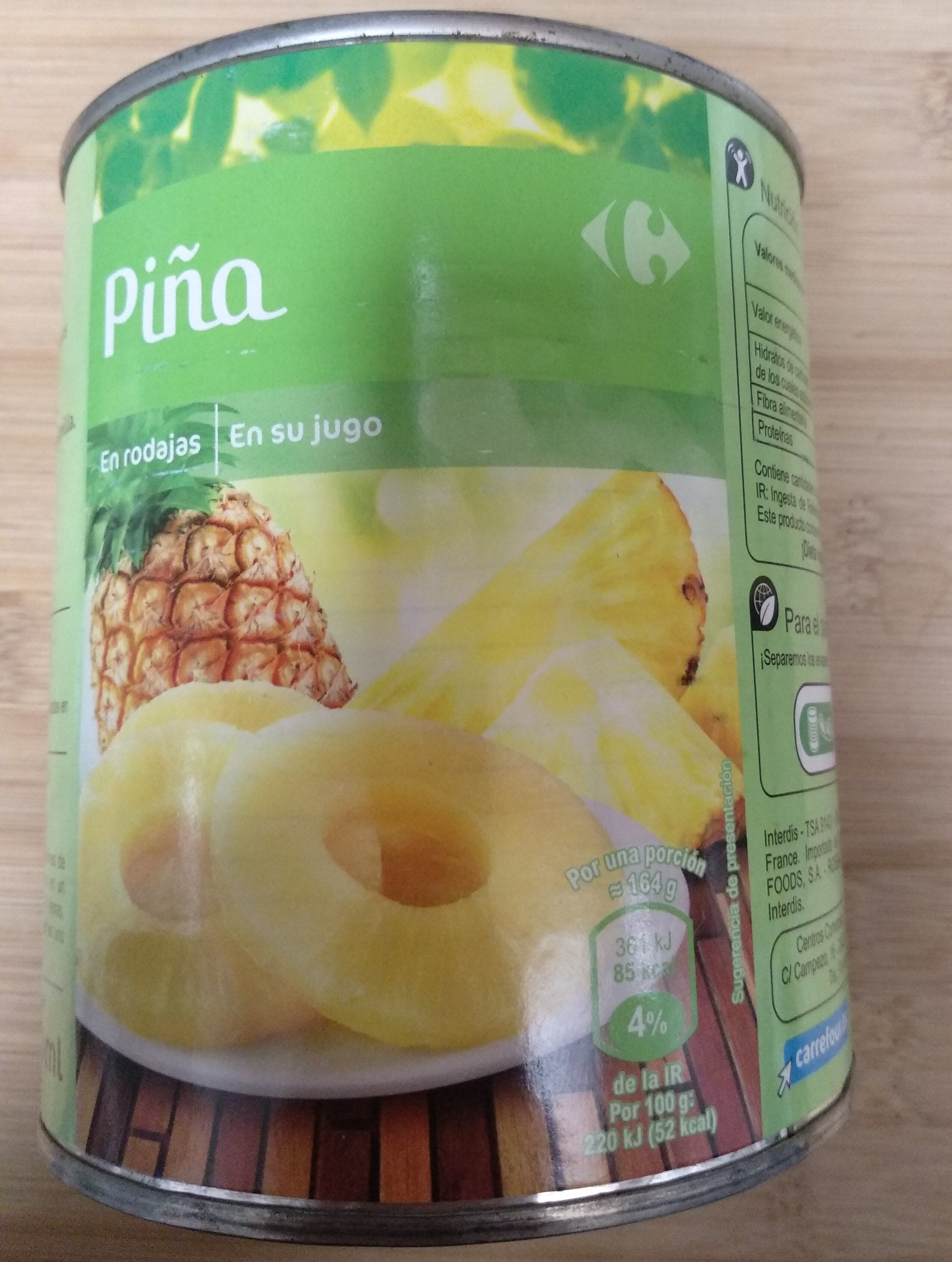 Piña - Producto