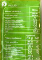 Regaliz pica pica - Información nutricional - es