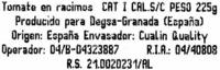 """Tomates cherry en rama """"Carrefour Selección"""" - Ingrédients - es"""