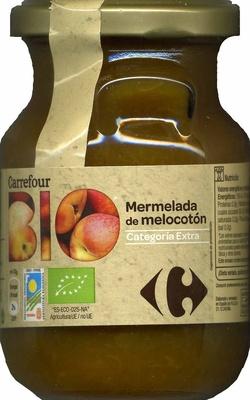 """Mermelada de melocotón ecológica """"Carrefour Bio"""" - Produit - es"""